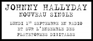 Johnny Hallyday nouveau single